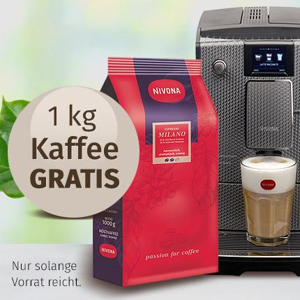 1kg Nivona Kaffee gratis dazu